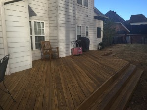 Bailey Deck Finished